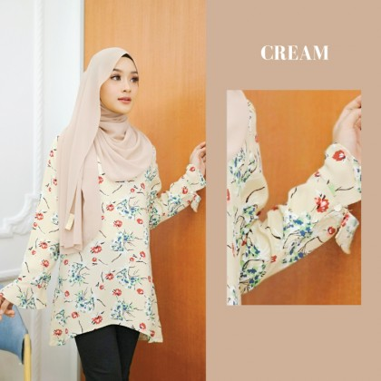 (BF735) Floral Blouse