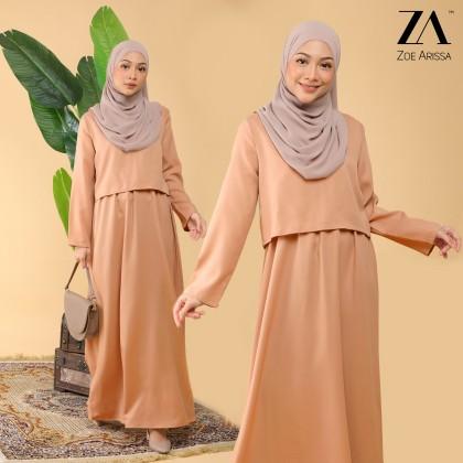 (DS2375) Meyya Plain Dress