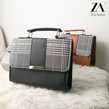 (A1040) Sofi Plaid Bag