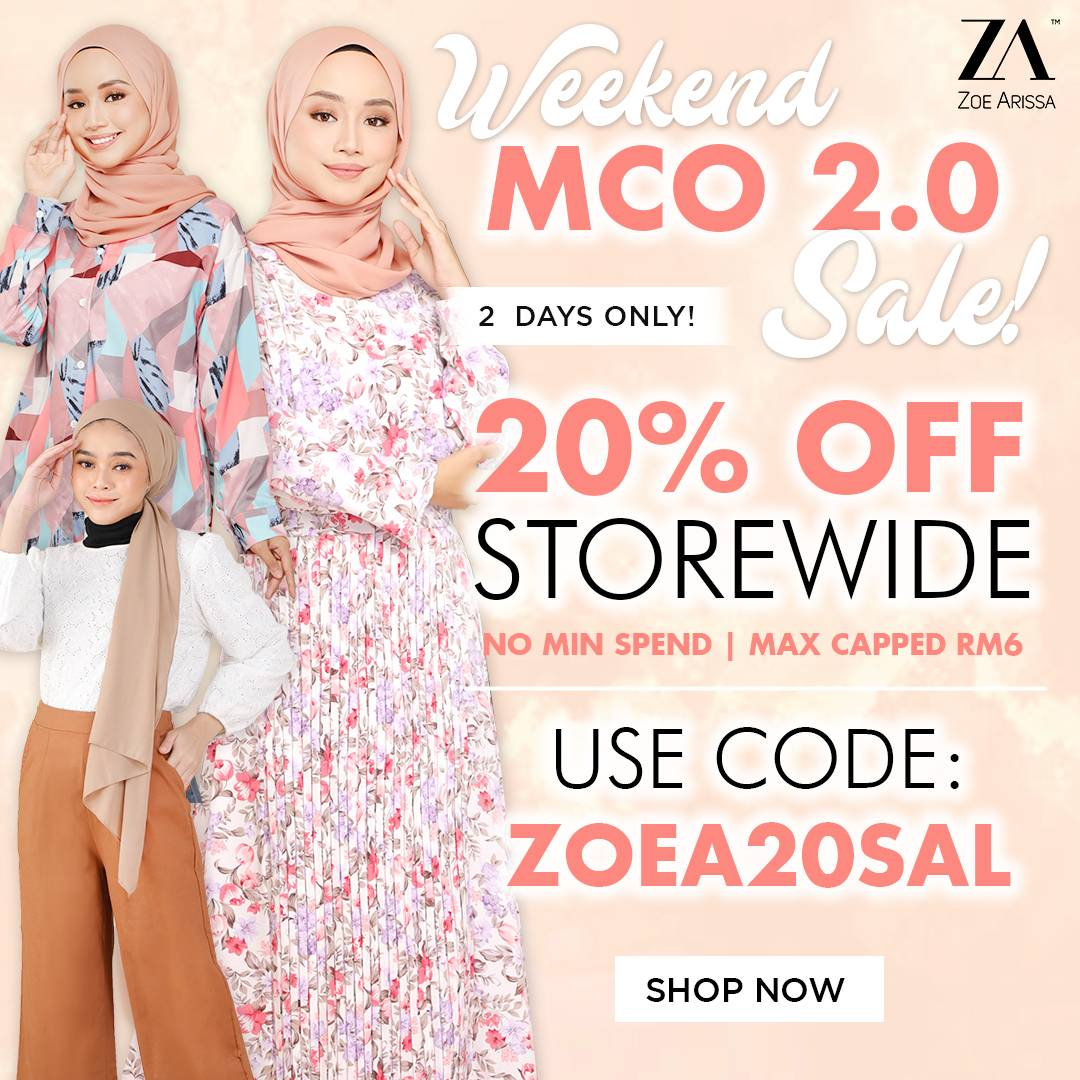 Weekend 20% off